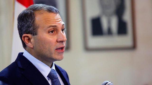 Lübnan Dışişleri Bakanı Basil: Lübnan'daki durum biriken krizlerin neticesi
