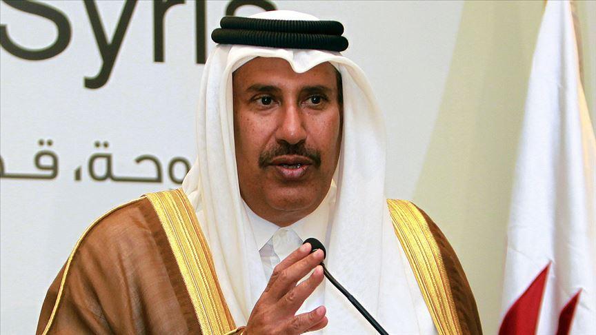 Eski Katar Başbakanı ve Dışişleri Bakanı Sani: Mutabakat, Arap Birliği açıklamasının ne denli sığ olduğunu kanıtlıyor