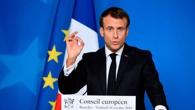 """Macron'dan Suriye ile ilgili """"yabancı terörist"""" açıklaması"""