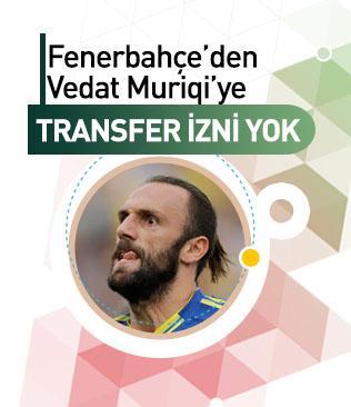 Fenerbahçe'den Vedat Muriqi'ye transfer izni yok