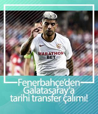 Fenerbahçe'den Galatasaray'a tarihi transfer çalımı