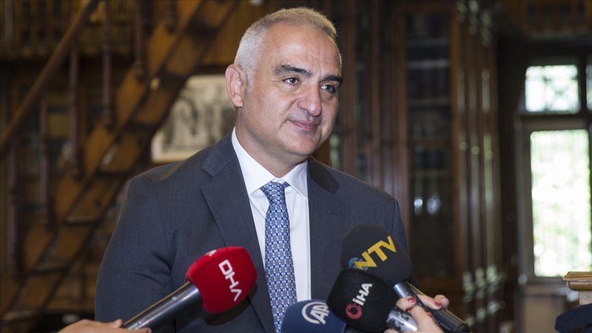 Kültür ve Turizm Bakanı Ersoy: 500 bine yakın Çinli'yi Türkiye'ye çekeceğiz