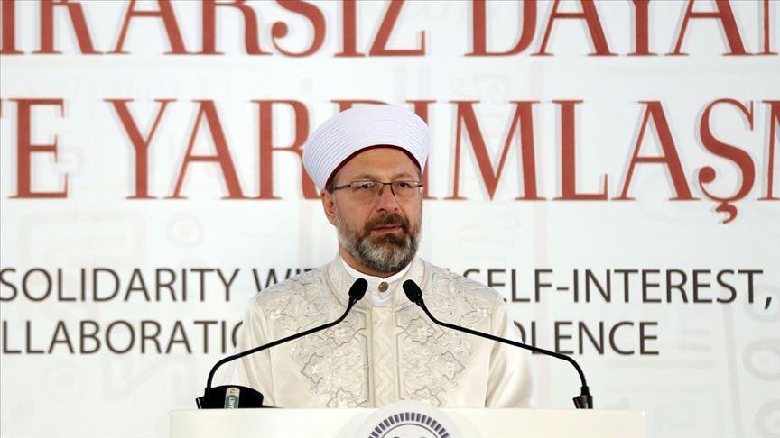 Diyanet İşleri Başkanı Erbaş: FETÖ, din kisvesi altında yayılan dış güdümlü bir terör örgütüdür