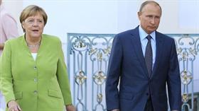 Merkel ve Putin Ukrayna, Suriye ve Libya'yı görüştü