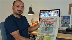 Karikatürleriyle İtalya'da gündem olan Türk