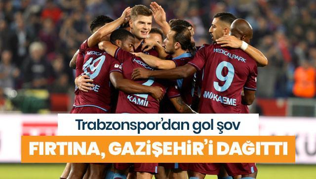 Trabzonspor, Gazişehir'i dağıttı