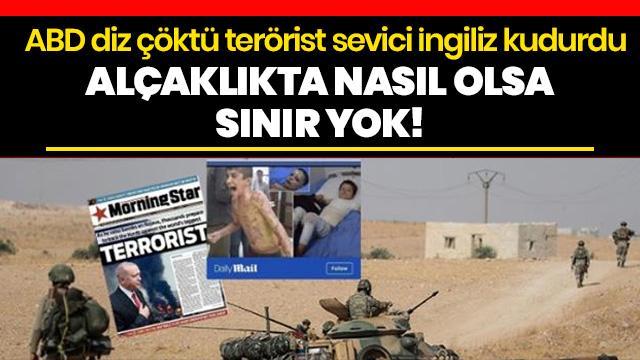 İngilizlerden çirkin algı operasyonu... Başkan Erdoğan ve harekatı hedef aldılar