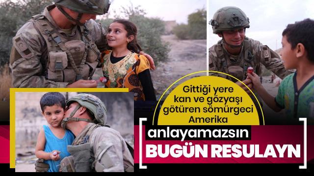 Türk askeri merhametlidir tereddütsüz güvenin