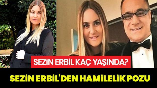 Sezin Erbil kaç yaşında? Sezin Erbil'in kızının adı ne olacak?