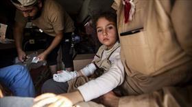 Tel Abyad'da YPG/PKK'nın eve döşediği mayının patlaması sonucu 3 sivil yaralandı