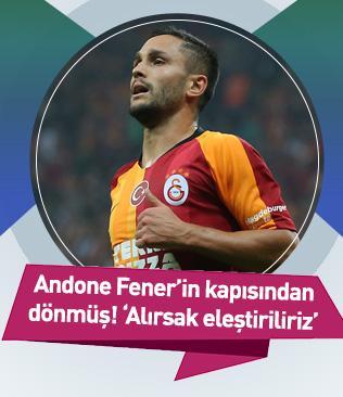 Florin Andone, Fenerbahçe'nin kapısından dönmüş! 'Onu alırsak eleştiriliriz'