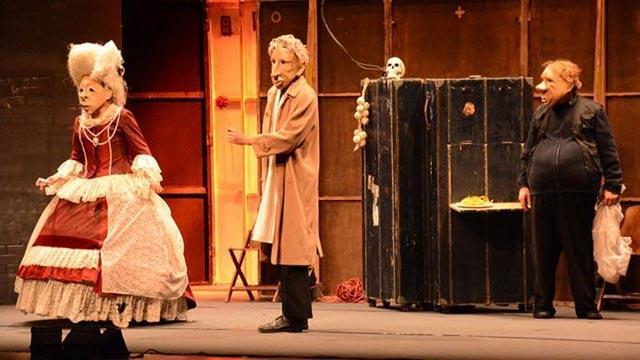 'Teatro Delusio' Eskişehirli tiyatroseverlerle buluştu