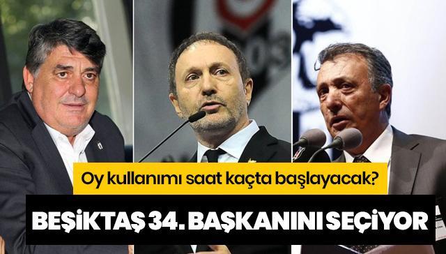 Beşiktaş 34. başkanını seçiyor