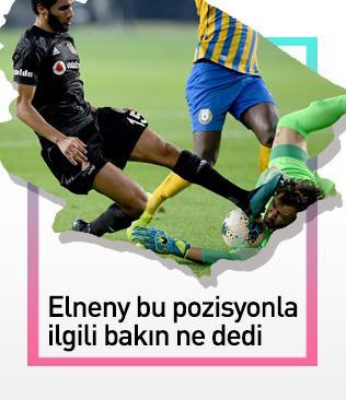 Muhammed Elneny, Korcan Çelikay'la girdiği pozisyonu anlattı: Niyetim kesinlikle zarar vermek değildi