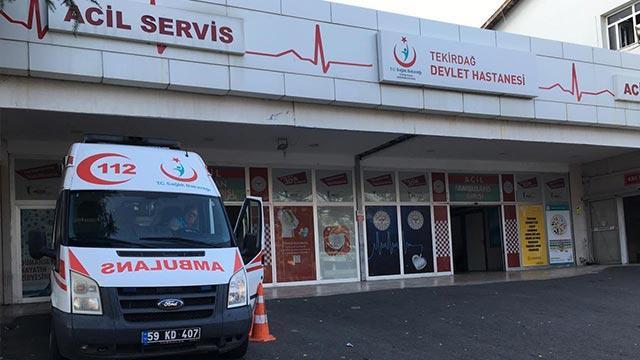 Tekirdağ'da silahlı saldırı: 1 ölü, 1 yaralı