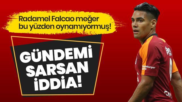 Radamel Falcao'nun transferinin ilk taksitini alamadığı için oynamadığı iddia edildi