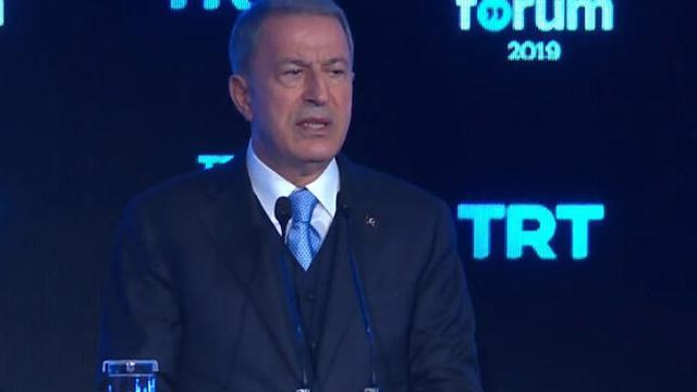 Bakan Akar: Müttefiklerimiz arasında YPG/PKK konusunda bazı ikilemler olduğunu görüyoruz