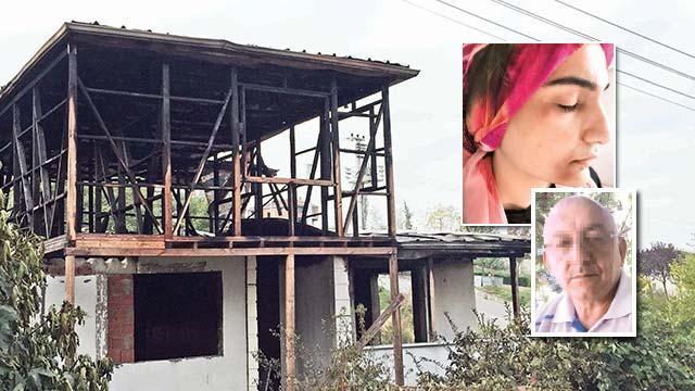 Serbest kaldı, evini de yaktı
