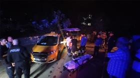 El freni çekmeyi unutan taksici aracının altında kalarak can verdi