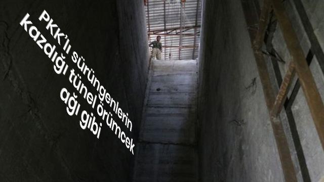 Rasulayn ilçe merkezini kaplayan tünel sistemi ortaya çıkarıldı