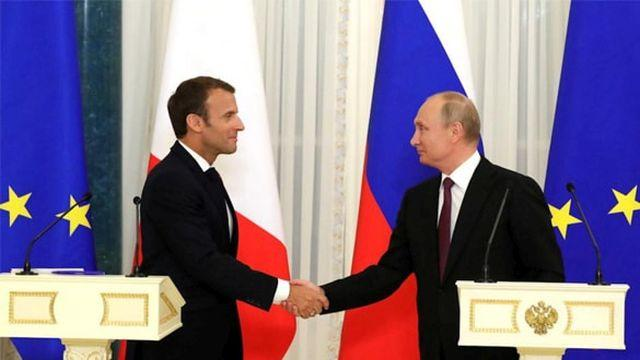 Macron, Putin'le yaptığı görüşmede 120 saatlik sürenin uzatılmasını istedi