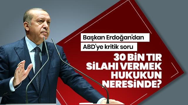 Başkan Erdoğan'dan kritik mesaj