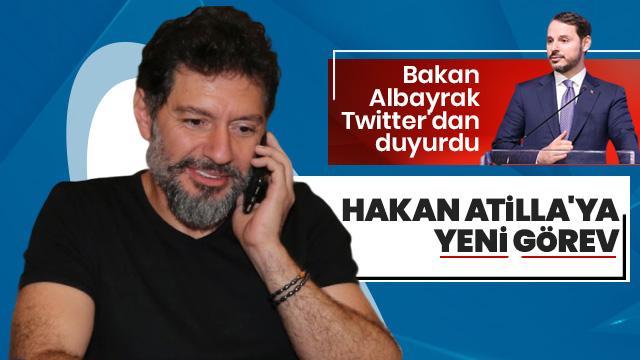 Bakan Albayrak: Hakan Atilla, Borsa İstanbul Genel Müdürü olarak göreve başlıyor