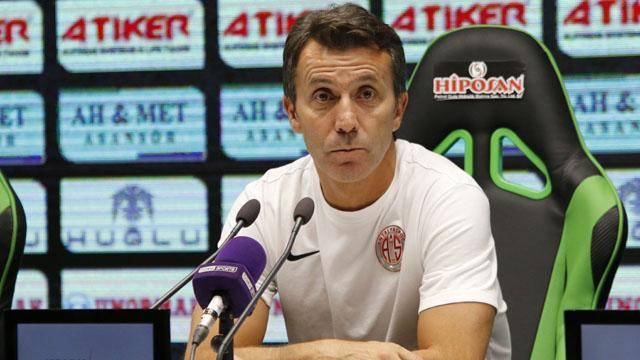 Antalyaspor'dan Bülent Korkmaz'a destek mesajı