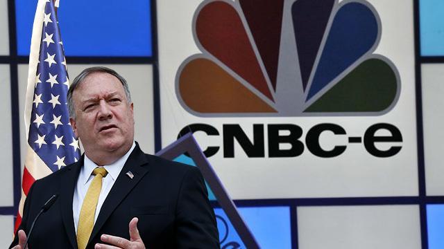 CNBC'den algı operasyonu: Pompeo'nun sözlerini 'Türkiye'ye askeri harekat' diye servis ettiler