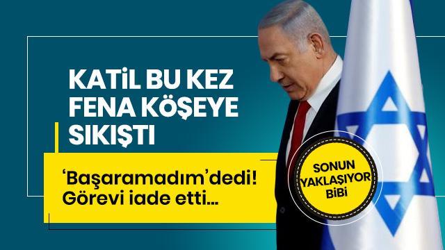Çocuk katili Netanyahu, koalisyon hükümetini kuramadı