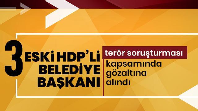 Diyarbakır'da terör gözaltıları
