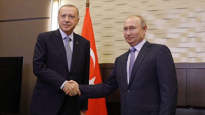 Başkan Erdoğan ile Putin arasında kritik zirve
