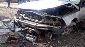 Azez'de bomba yüklü araç patladı