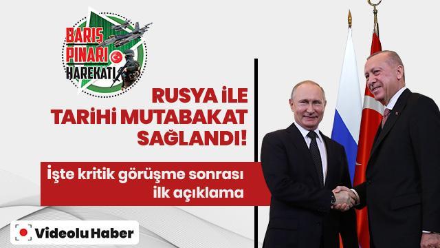 Başkan Erdoğan: YPG'li teröristler silahlarıyla beraber bölgenin dışına çıkarılacak