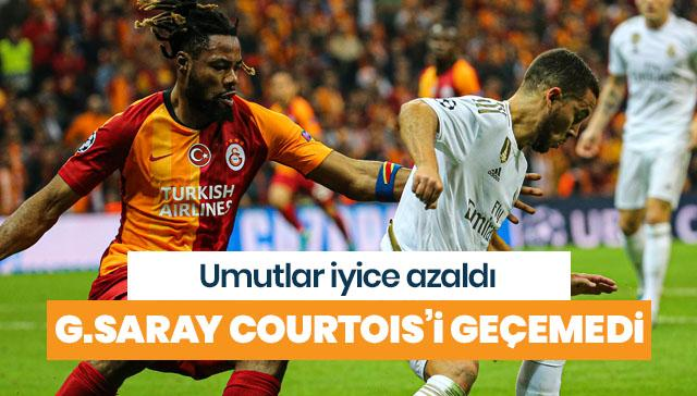 Galatasaray, Şampiyonlar Ligi'nde İspanyol ekibi Real Madrid'e mağlup oldu