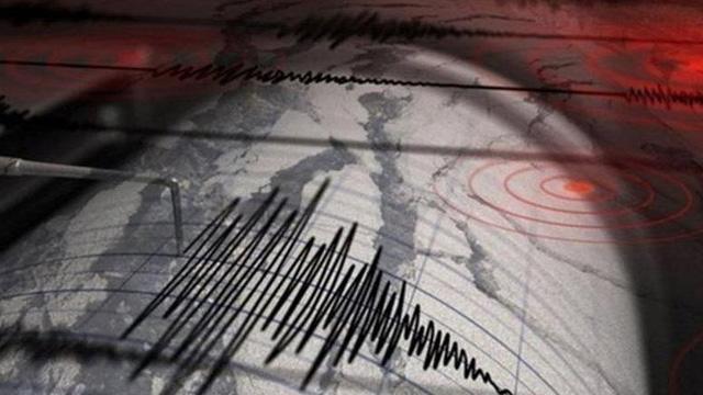 Ege Denizi'nde 3.5büyüklüğünde deprem