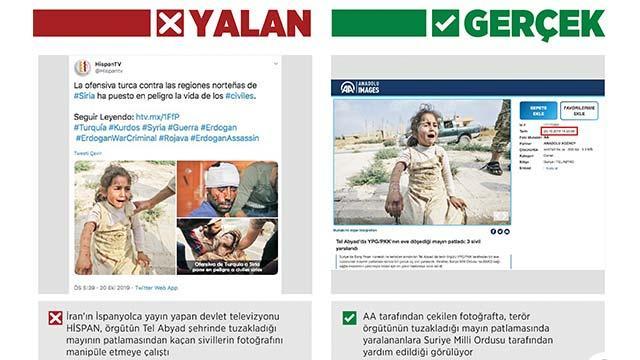 İran medyasından manipüle etme çabası