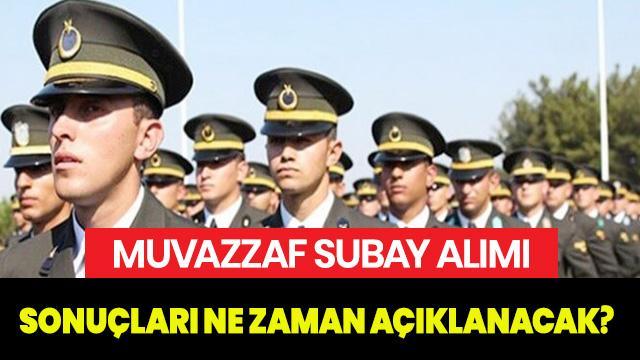 Muvazzaf subay alımı 2019 sonuçları açıklandı mı? MSB subay alımı sonuçları ne zaman açıklanacak?