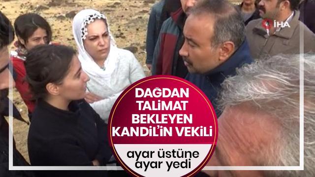 Emniyet amirinden HDP'li vekillere ince ayar!