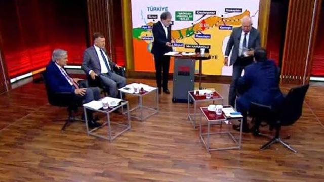 Miroğlu ile CHP'li Atıcı canlı yayında birbirine girdi: Böyle faşistlerle bizi bir daha oturtmayın