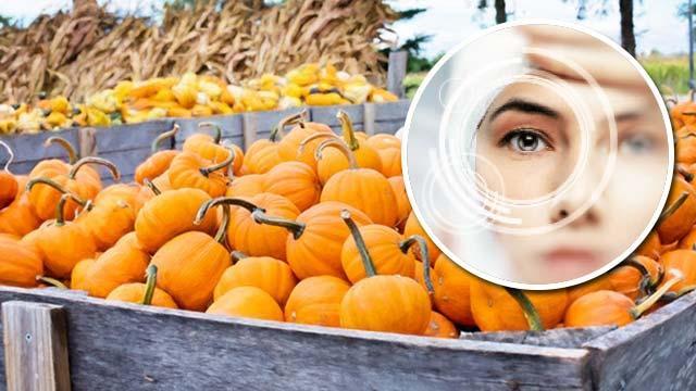 Göz sağlığı içinbalkabağı yiyin