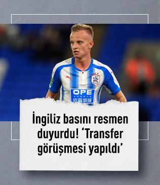 İngiliz basını resmen duyurdu: Fenerbahçe Hadergjonaj'la görüştü!