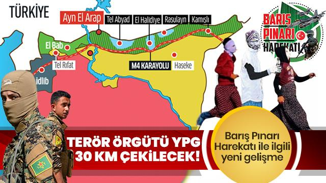 Rusya'dan gelen ilk bilgi: YPG 30 km geri çekilecek