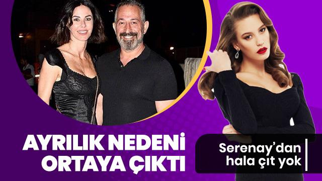 Defne Samyeli ve Cem Yılmaz'ı ayırdığı söylenen Serenay Sarıkaya, muhabirlerin sorularını yanıtsız bıraktı