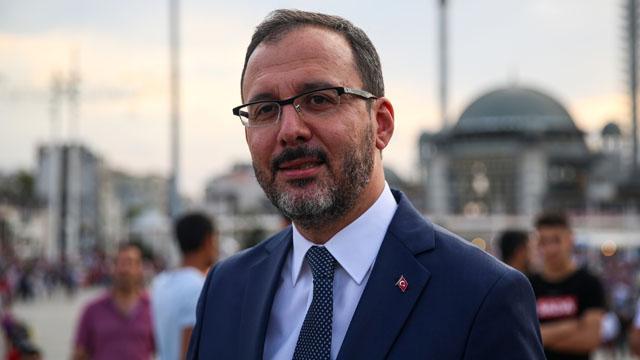 Bakan Kasapoğlu, Galatasaray HDI Sigorta'yı kutladı