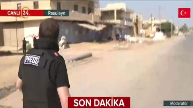 24 TV ekibi Resulayn'da... İşte bir hafta önce şiddetli çatışmaların yaşandığı kent merkezi