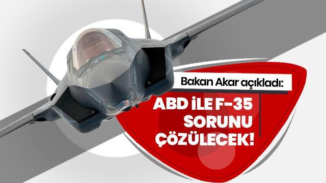 Bakan Akar: F-35 konusundaki anlaşmazlıklar aşılacak