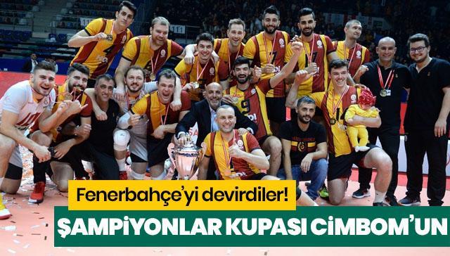 Şampiyonlar Kupası Galatasaray HDI Sigorta'nın