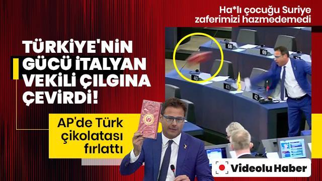 Türkiye'nin gücü İtalyan vekili çılgına çevirdi!