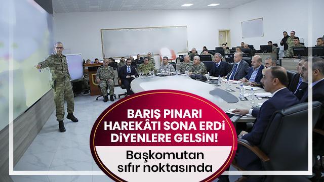 Başkan Erdoğan Suriye sınırında